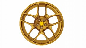 Aluminium wheel type NF4 forged front axle