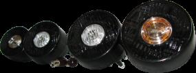 Black rear lights